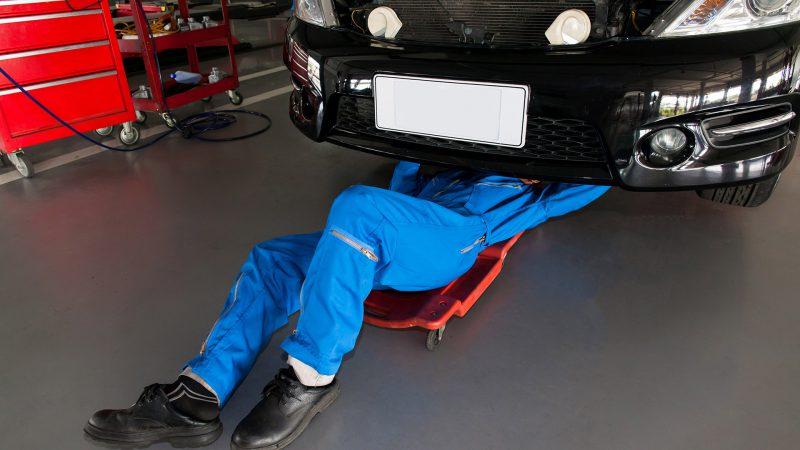 Car Industry Flooring