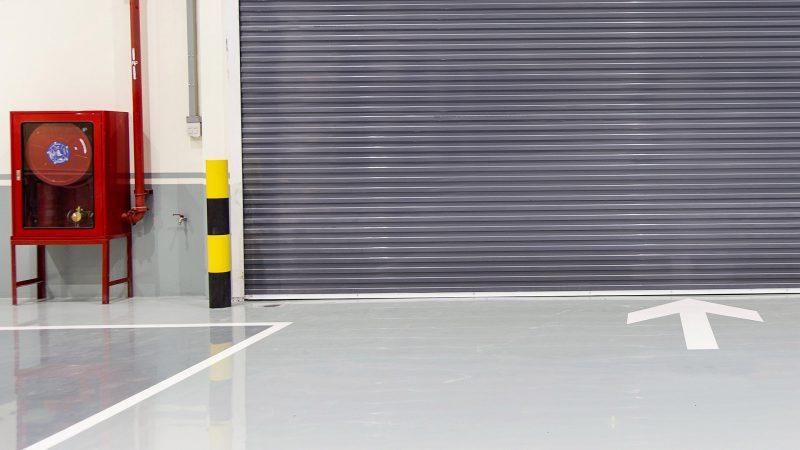Industrial Floor Close